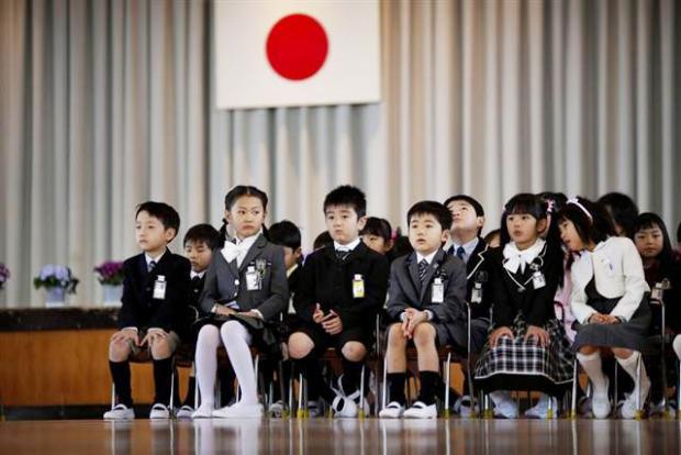 Ở độ tuổi mẫu giáo, trẻ em Nhật đã được học về giới tính