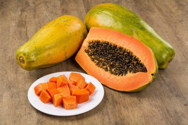đu đủ - vitamin c có trong loại thực phẩm nào