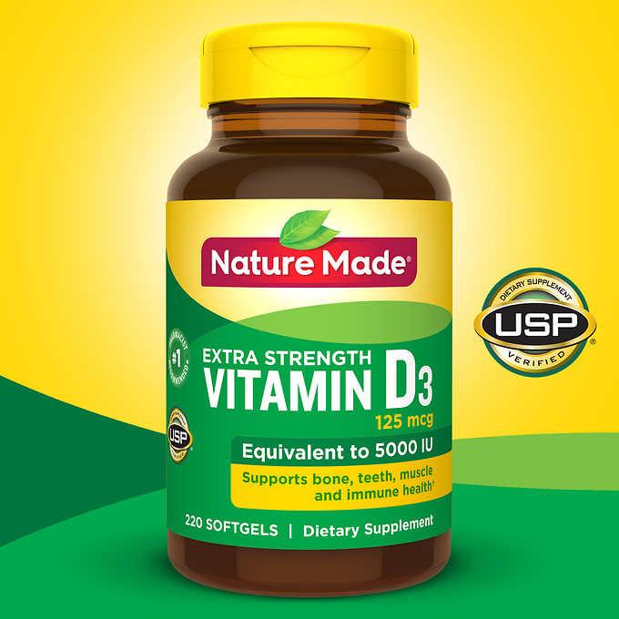 Vitamin D3 là gì? Cách sử dụng vitamin D3 đúng cách